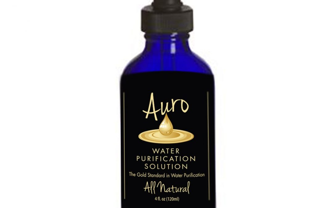 Auro Liquid Gold Pure Mineral Water